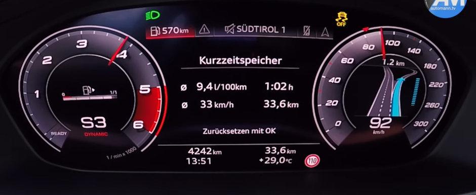 Echipat in premiera cu motor diesel. TEST DE ACCELERATIE cu noua generatie Audi S4 Avant