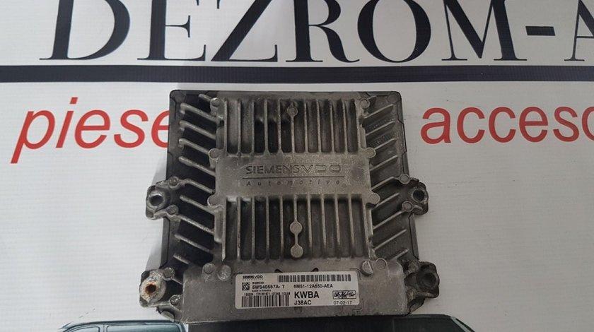 Ecu 6M51-12A650-AEA 5WS40557A-T ford c-max 2.0 tdci