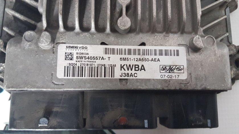 Ecu 6M51-12A650-AEA 5WS40557A-T ford focus II 2.0 tdci