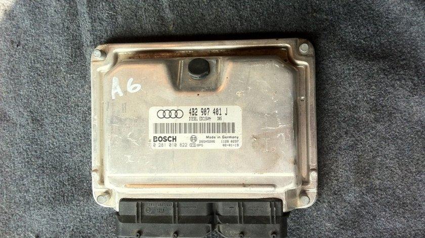 Ecu Audi A6 2 5 Tdi Ake Cod 4b2907401j 0281010822
