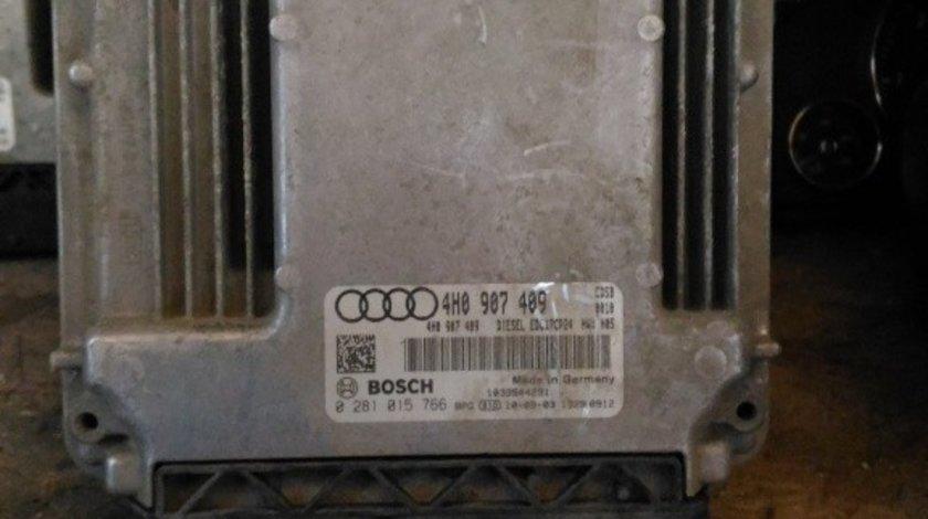 ECU AUDI A8 4h 4h0907409 0281015766 4.2 tdi CDSB