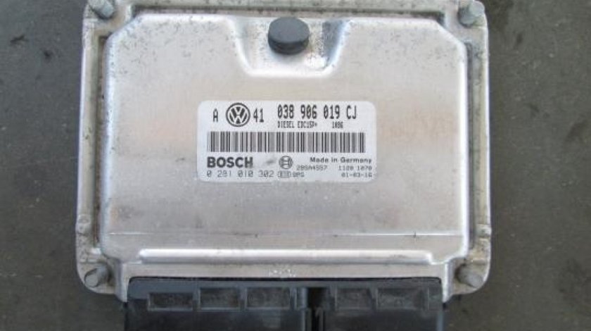 Ecu Bosch Cod 038906019 Cj Vw Bora 1 9 Tdi Pd Ajm