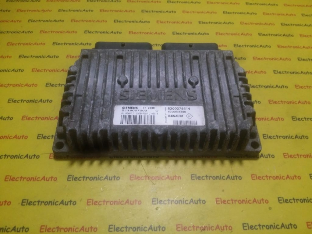 ECU Calculator cutie Automata Renault Megane S118057002D, 8200278614