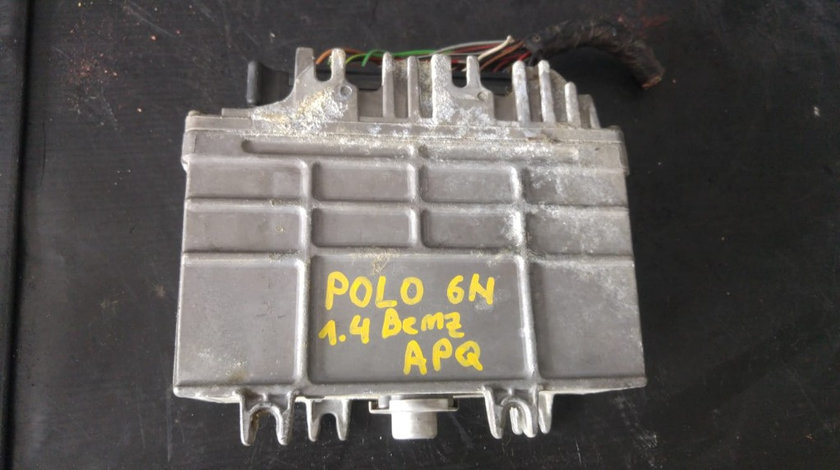 Ecu calculator motor 1.4 b apq vw polo 6n 030906027aa 0261204617