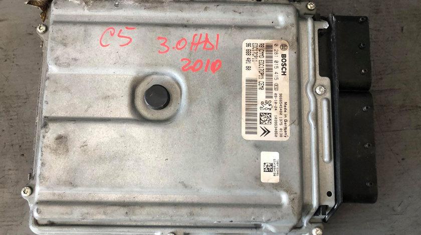 Ecu calculator motor 3.0 hdi citroen c5 0281015415 9666840180