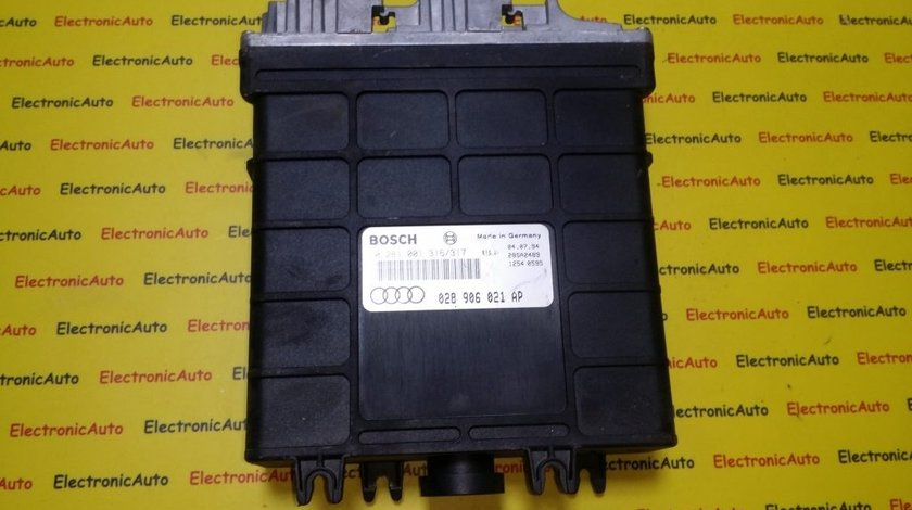 ECU Calculator motor Audi 80 1.9TDI 028906021AP 0281001316/317