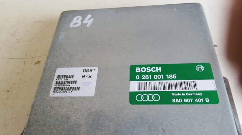 ECU / Calculator motor Audi 80 B4 1,9 TDI cod 0281001185 sau 8A0907401B
