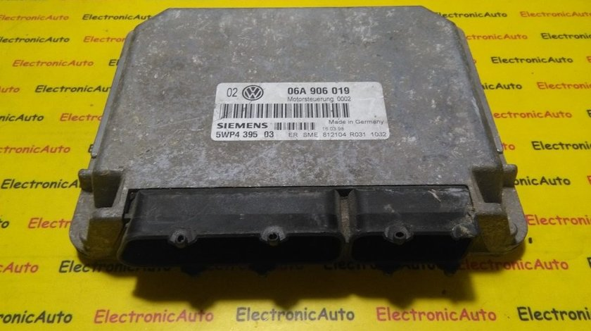 ECU Calculator motor Audi A3 1.6 06A906019, 5WP439503