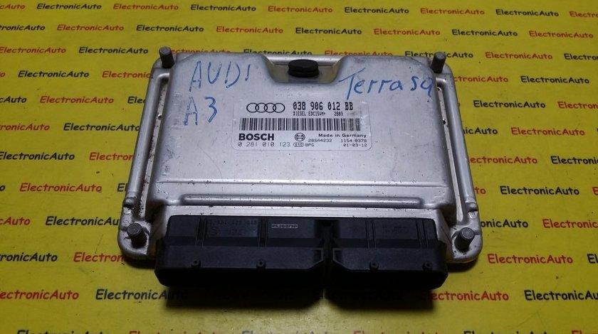 ECU Calculator motor Audi A3 1.9 tdi 0281010123, 038906012BB
