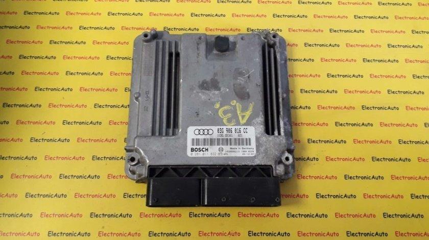 ECU Calculator motor Audi A3 1.9 tdi 0281011832 03G906016CC