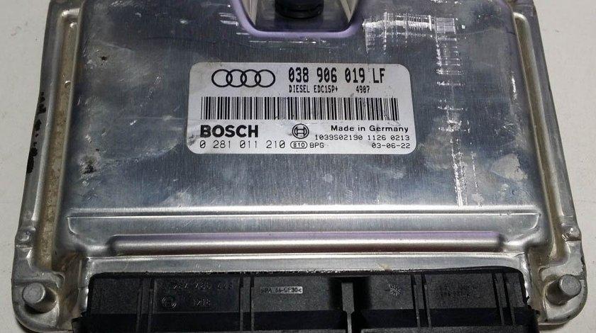 ECU Calculator motor Audi A4 1.9TDI 0281011210 038906019LF