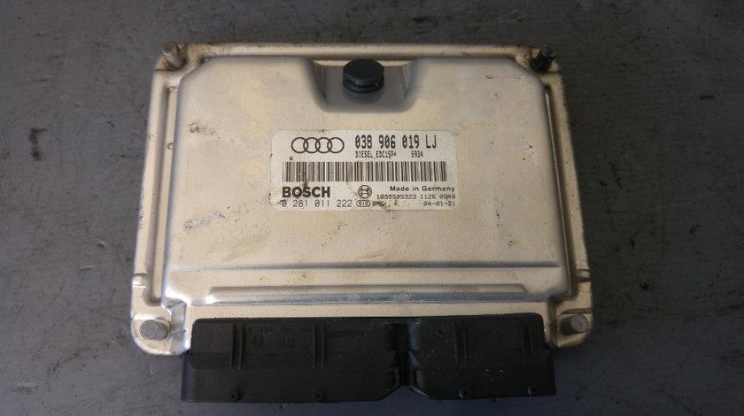 Ecu calculator motor audi a4 b6 1.9 tdi avf 038906019lj 0281011222