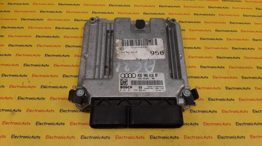 ECU Calculator motor Audi A6 2.0TDI 03G906016BF, 0281011850