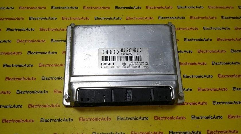 ECU Calculator motor Audi A6 2.5 tdi 0281001833, 4B0907401E