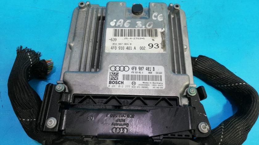 ECU Calculator Motor Audi A6 C6 3.0 TDI 4F0907401B, 0281012269