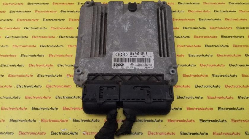 ECU Calculator Motor Audi A8 4.0 TDI, 0281011684, 4E0907409B