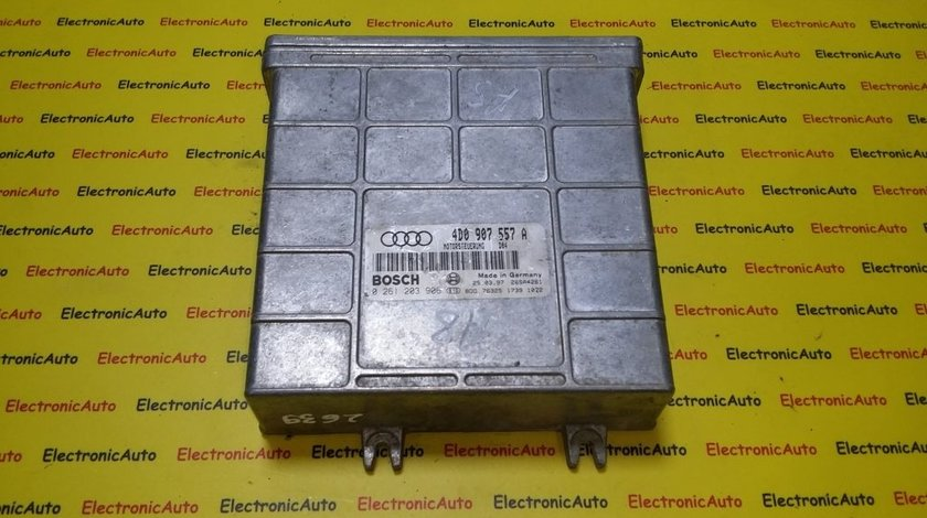 ECU Calculator motor Audi A8 4D0907557A, 0261203906