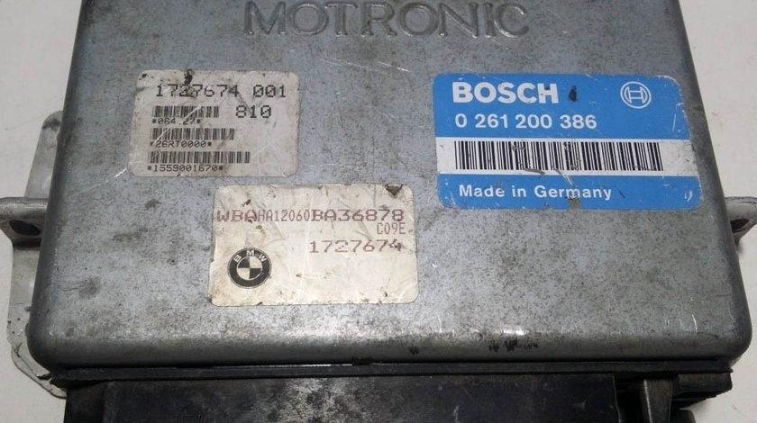 ECU Calculator motor BMW 0261200386 1727674