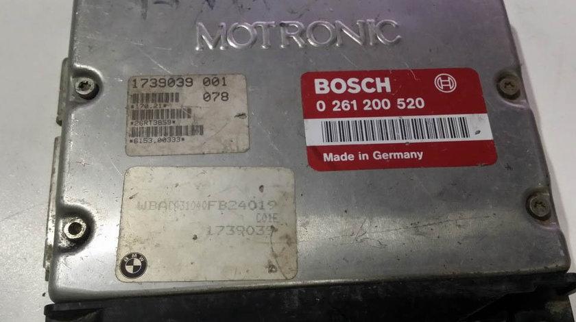 ECU Calculator motor Bmw 318 0261200520 1739039 M1.7 E36