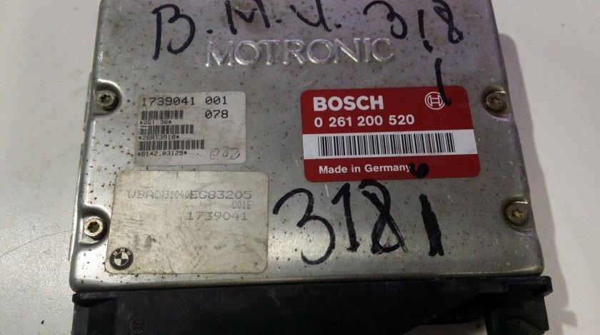 ECU Calculator motor Bmw 318 0261200520 1739041 M1.7 E36