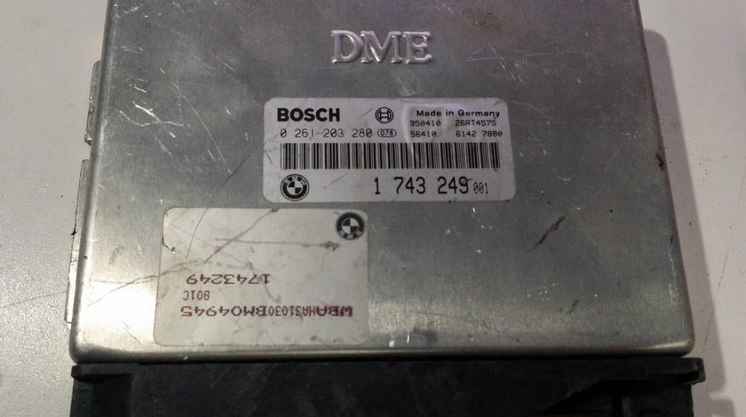 ECU Calculator motor Bmw 318 0261203280 1743249