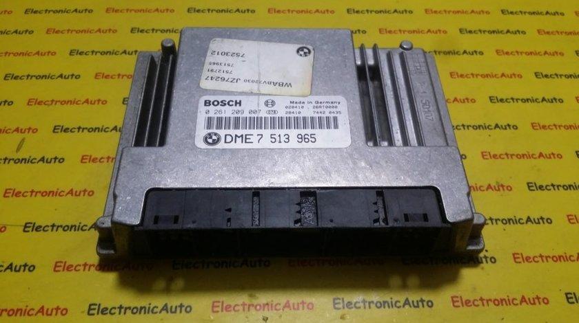 ECU Calculator motor Bmw 318 0261209007, DME7513965