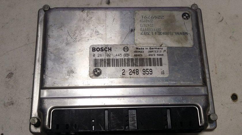 ECU Calculator motor Bmw 320D 0281001445 2248959