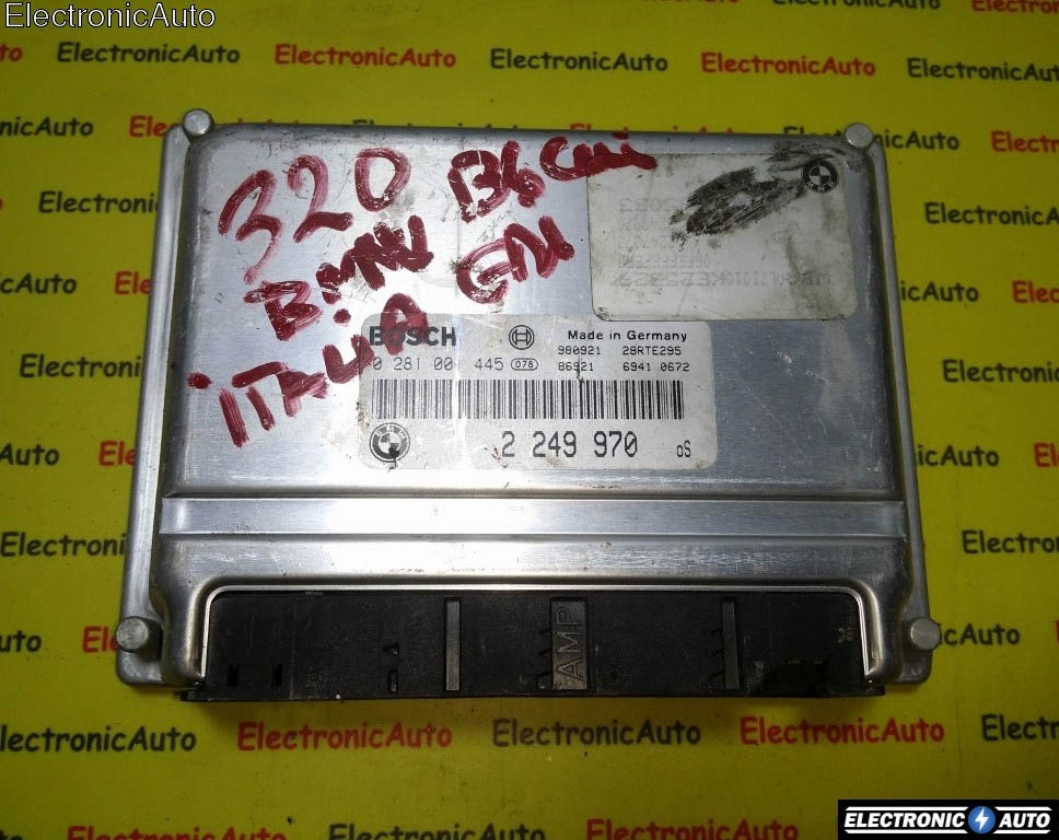 ECU Calculator motor Bmw 320D 0281001445 2249970