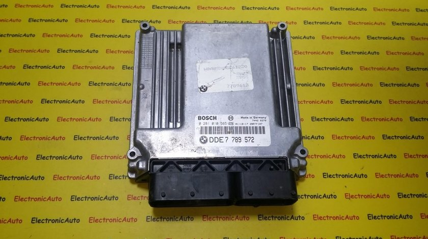 ECU Calculator motor Bmw 320D 0281010565 DDE7789572
