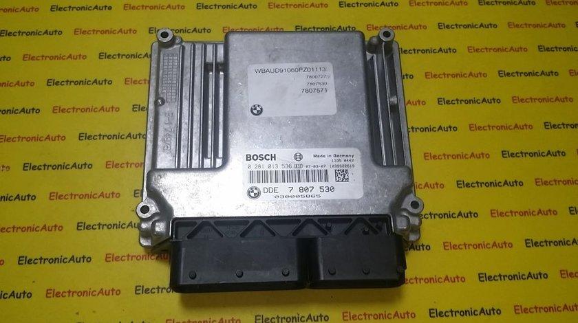 ECU Calculator motor Bmw 320D 0281013536 DDE7807530