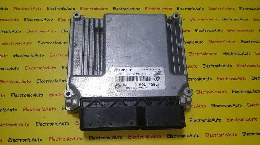 ECU Calculator motor Bmw 320D 0281016110 DDE8506438