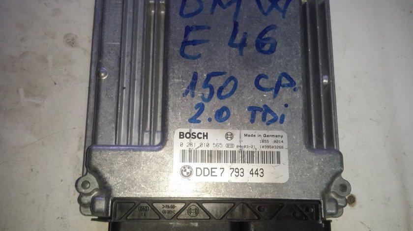 ECU Calculator motor Bmw 320D DDE7793443