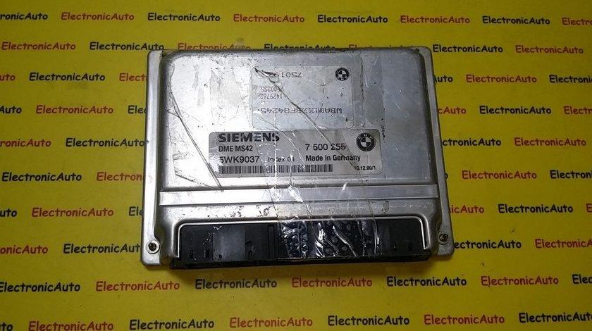 ECU Calculator motor Bmw 323i 5WK9037 7500255
