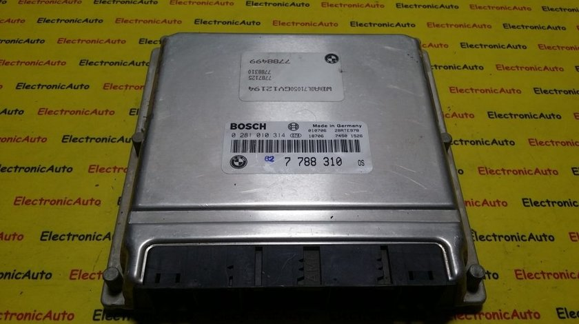 ECU Calculator motor Bmw 530D 0281010314 7788310