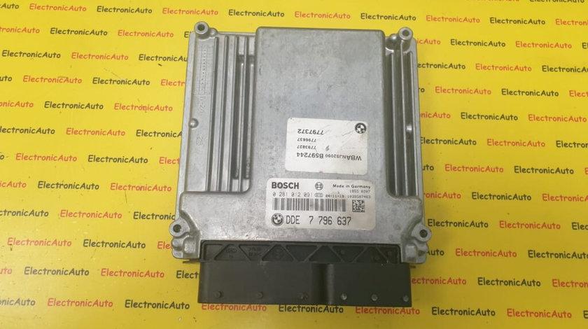 ECU Calculator Motor BMW 530D, 0281012091, DDE7796637