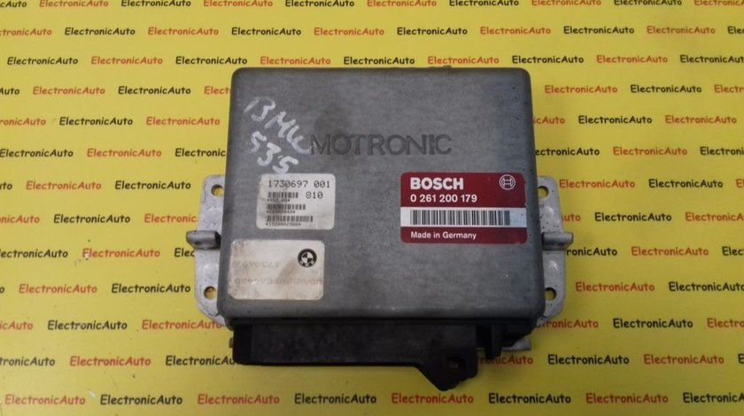 ECU Calculator Motor BMW 735i, 0261200179, 1730697 M1.3 E32
