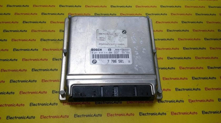 ECU Calculator motor Bmw E39, 530D 0281010314 7786581