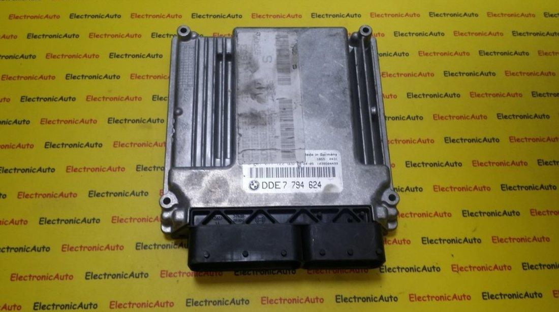 ECU Calculator motor Bmw E46 320D 0281011122 DDE7794624