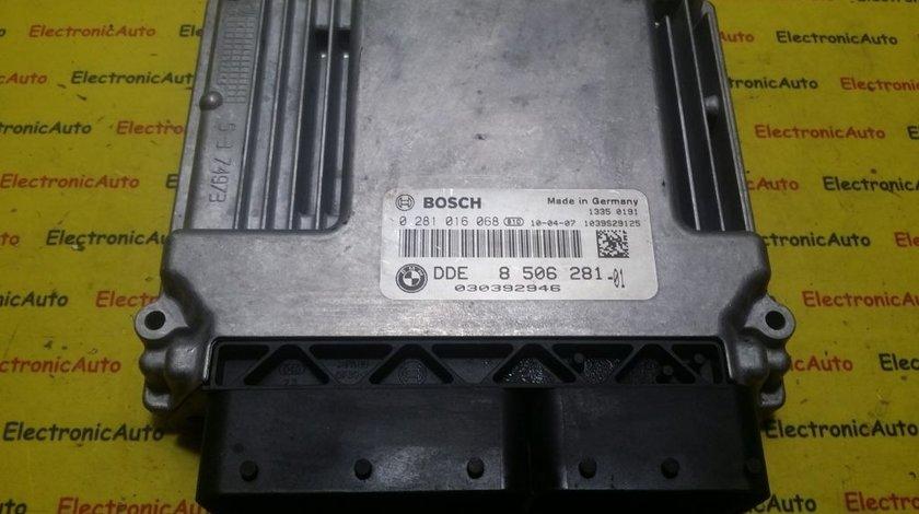 ECU Calculator motor BMW SERIA 3 E90, 91 0281016068