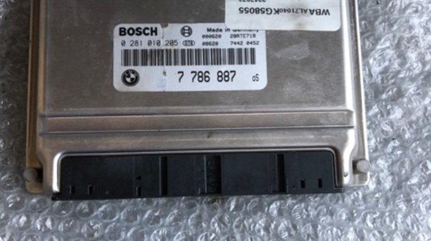 Ecu calculator motor bmw serie 3 e46 7786887