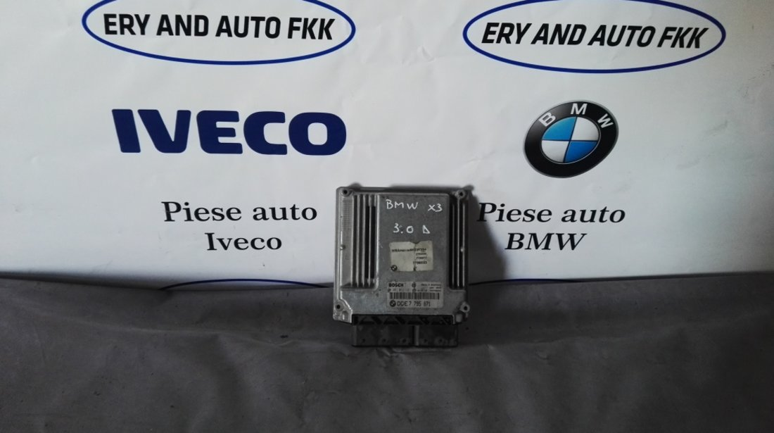 ECU Calculator motor Bmw X3 3.0D 0281011121 DDE7795871