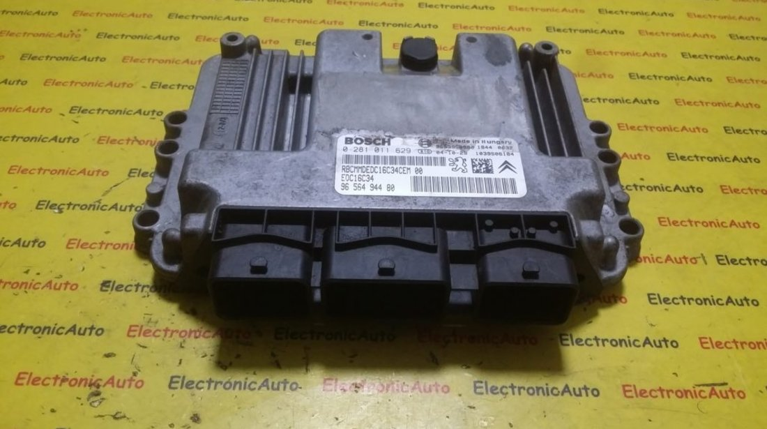 ECU Calculator motor Citroen C4 0281011629, 9656494480