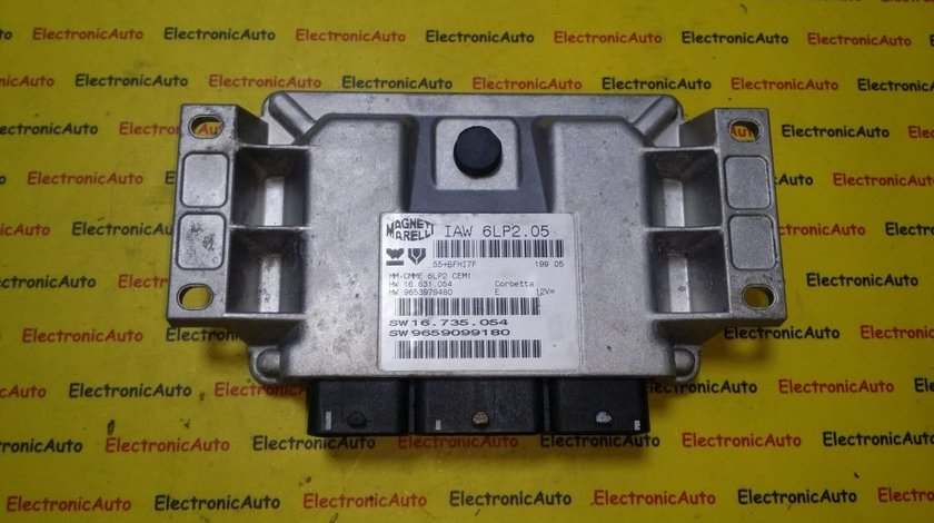 ECU Calculator motor Citroen C4 1.4 9659099180, IAW6LP205