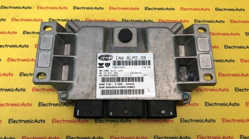 ECU Calculator motor Citroen C4 1.4 IAW 6LP2.05 9665486380 9664339980