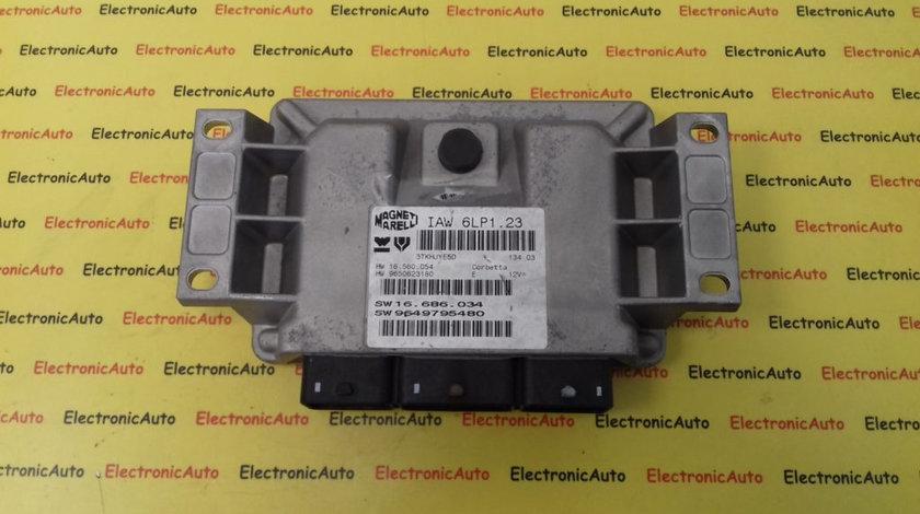 ECU Calculator Motor Citroen C5 2.0, 9650623180, 9649795480, IAW6LP108