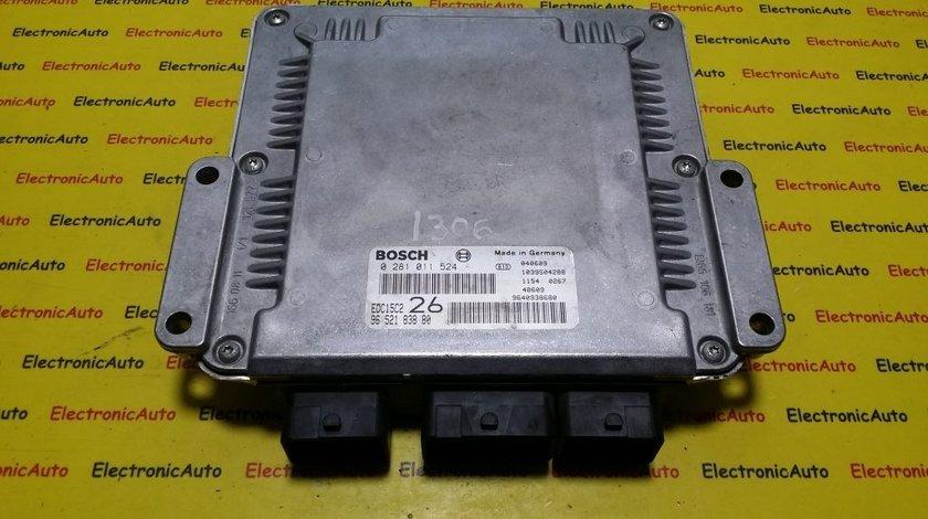ECU Calculator motor Citroen C5 2.0HDI 0281011524, 9652183880