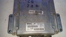 ECU Calculator motor Citroen C5 2.2HDI 0281010886
