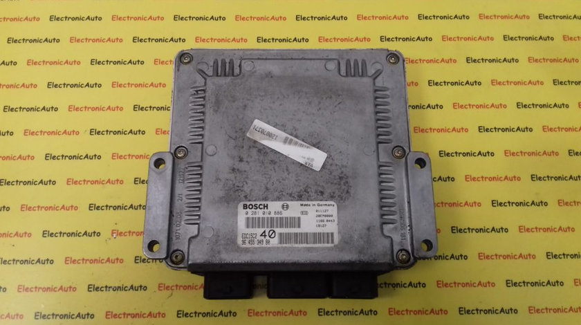 ECU Calculator Motor Citroen C5 2.2HDI, 0281010886