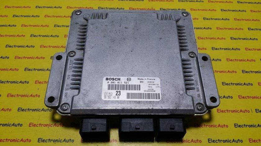 ECU Calculator motor Citroen Xsara Picasso 2.0 hdi 0281011521, 9656314380