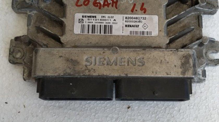 ECU calculator motor Dacia Logan 1.4 cod S110140011A 8200483732
